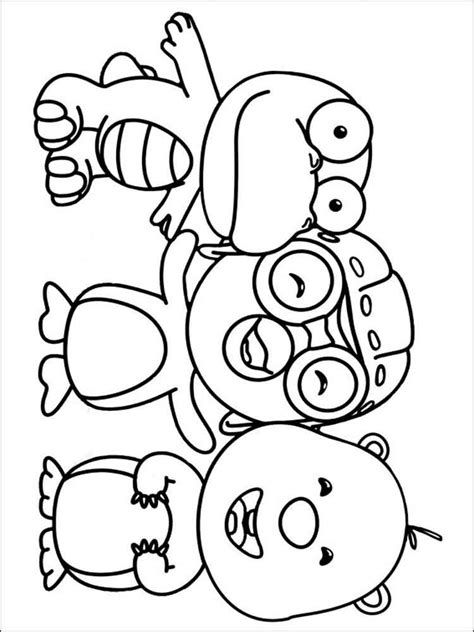 pororo the little penguin coloring pages free printable