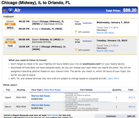 make my trip fare calendar flights amazing 44 flights from chicago to florida on southwest