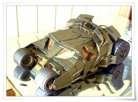 Batman Tumbler Papercraft - batman s tumbler papercraft by oadean3