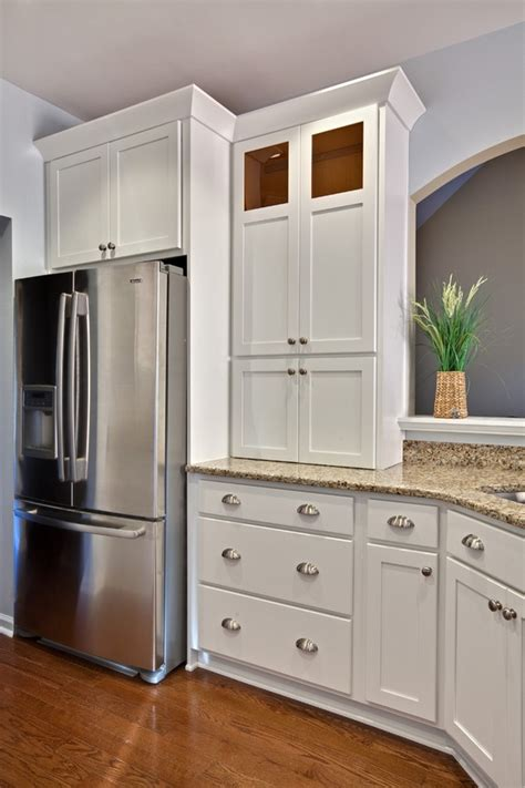 white shaker cabinets with granite shaker cabinets clean simple functional and visually
