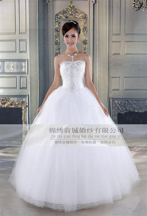 flash diamonds brides strapless wedding dresses ball