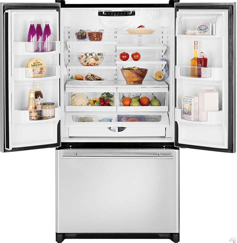 jenn air depth french door refrigerator jenn air 20 cu ft depth french door refrigerator