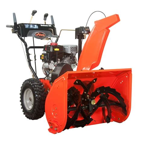 ariens deluxe 28 in 2 stage electric start gas snow