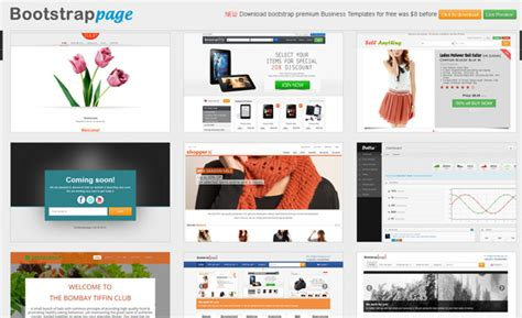 bootstrap themes directory 30 exceptional responsive bootstrap themes