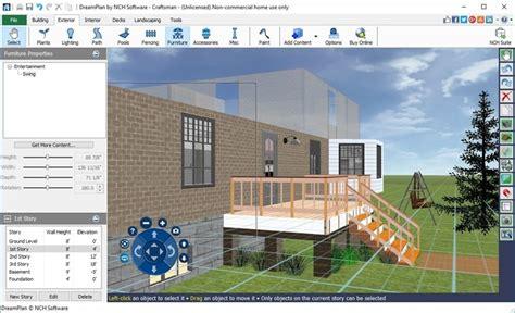 home design software nch dreamplan home design landscape planning software