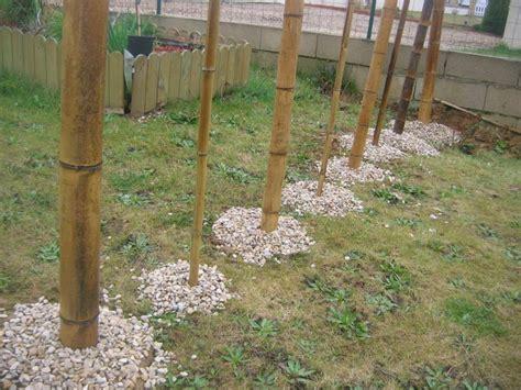 separation jardin une s 233 paration jardin potager en bambous oh jardin