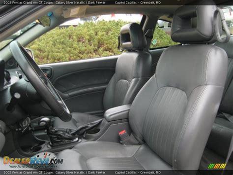 pewter interior 2002 pontiac grand am gt coupe
