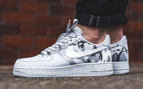 Nike Airforce One Gliter 1 nike air 1 low reflective camo platinum dropping this week kicksonfire