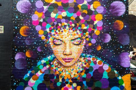 amazing birmingham street art images  city  colours