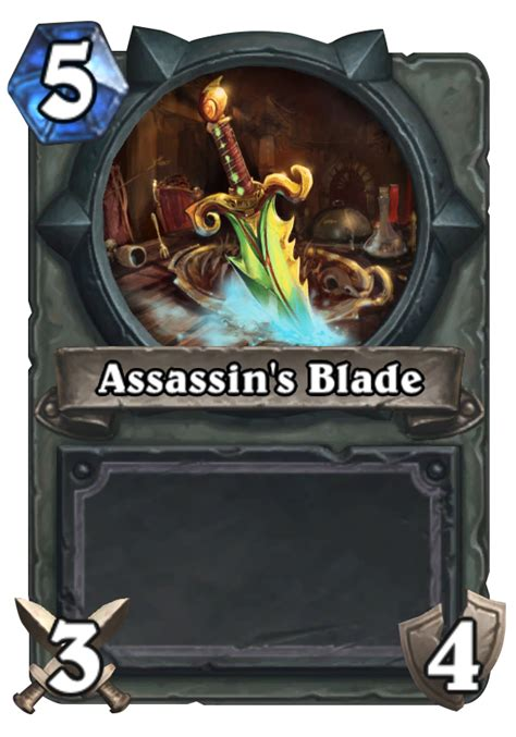 assassins blade hearthstone card