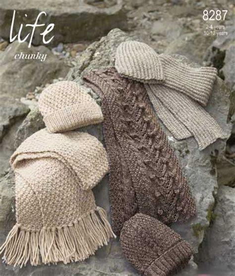 knitting pattern for scarf uk stylecraft knitting patterns aran childrens