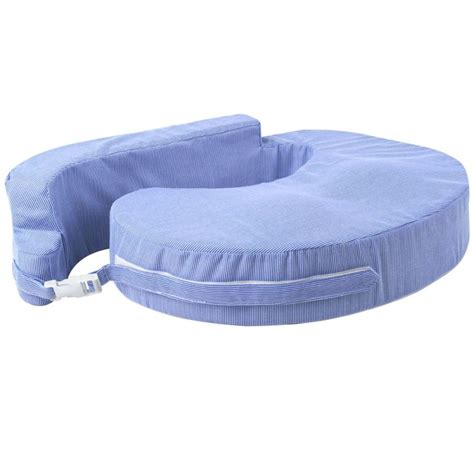Breast Support Pillow by Foam Breast Feeding Pillow W Zip Cover Blue Buy 30 50