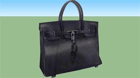 sketchup components  warehouse hermes birkin hand bag