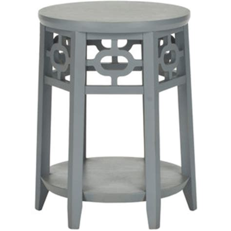 Zinc Side Table Copy Cat Chic Zinc Door Adela Pearl Gray Side Table