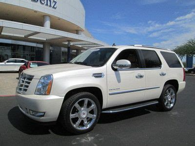 Diesel 1122 White Silver buy used 2012 cadillac escalade platinum hybrid in houston