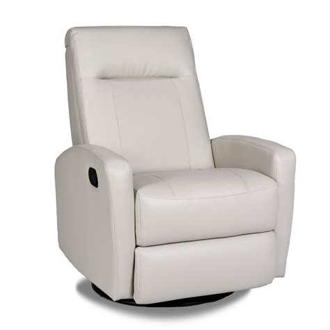 Leather Swivel Chair Recliner - opulence home stefan swivel glider recliner reviews