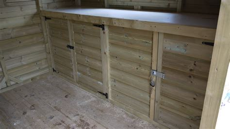shed benches workbenches the wooden workshop oakford devon