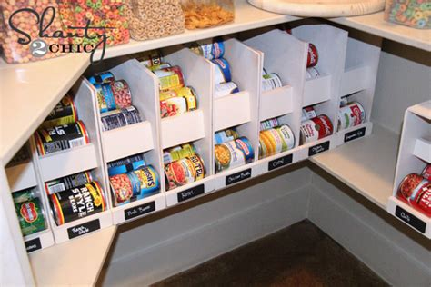 How To Organize Cans In A Pantry by 17 Canned Food Storage Ideas To Organize Your Pantry