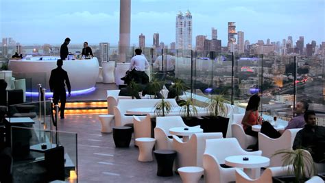 Top Bar In Mumbai by India January 2011 Enjoying A Relaxed Drink In A