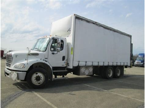 curtain side box truck 2010 freightliner business class m2 112 for sale 15 used