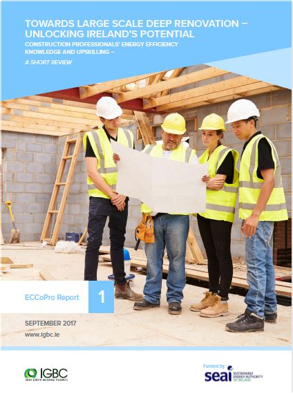 construction professionals energy efficiency knowledge  upskilling  short review irish
