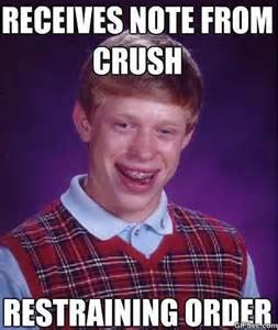 Bad Luck Bryan Meme - bad luck brian meme