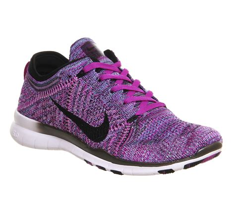 Nike Free Purple nike free tr flyknit in purple lyst