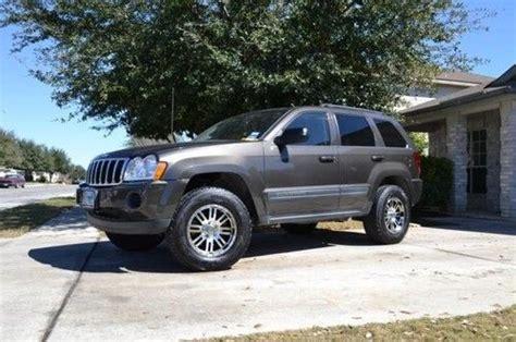 2005 Jeep Grand Tires Sell Used 2005 Jeep Grand Laredo 4x4 In Schertz