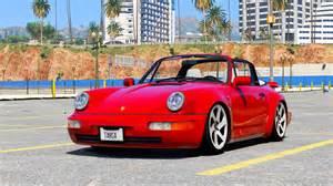 Porsche 964 Targa Porsche 911 964 Targa Cabrio Add On Replace Gta5