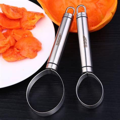Stainless Steel Fruit Dig kcasa kc ps026 stainless steel vegetable fruit melon corer seed dig pulp separator slicer peeler
