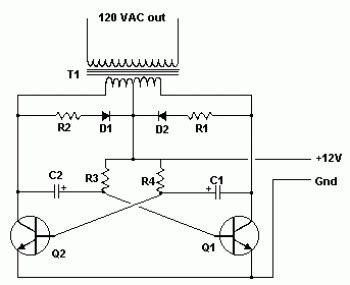 transistor d882 diagrama simple inverter 12v dc to 120v ac schematic design