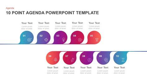 step agenda powerpoint template keynote diagram