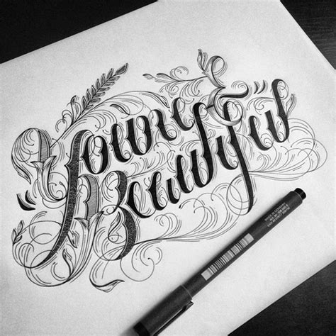 tattoo lettering sketch hand lettering and typography by raul alejandro things i