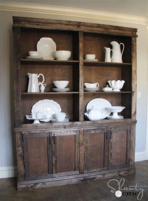 Dining Room Hutch Diy 1000 Images About Buffet Building Plans On