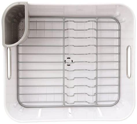 Simplehuman Compact Dish Rack Simplehuman Compact Stainless Steel Dish Rack Sink Drainer