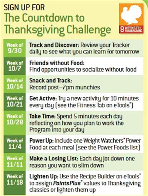 six 8 week challenge living a changed 8 weeks to thanksgiving challenge