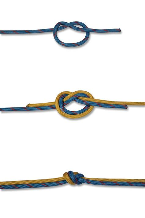 water knot how to tie the water knot rescue knots 42 best images about ropework on pinterest