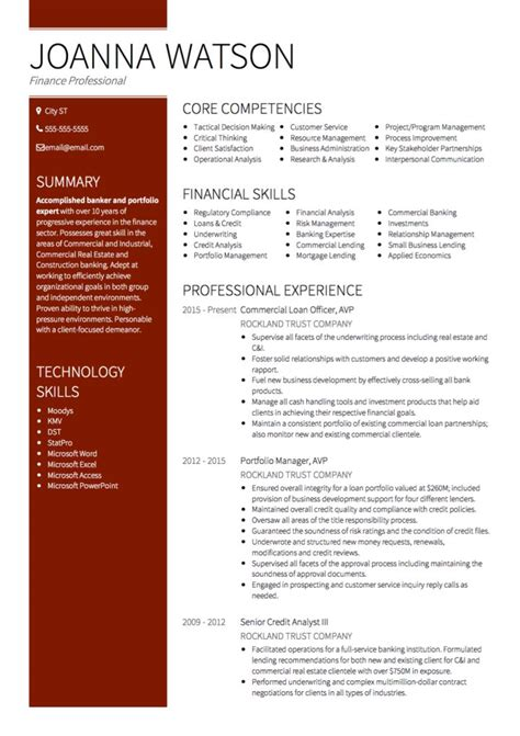 collection of solutions sample resume for bank jobs with no
