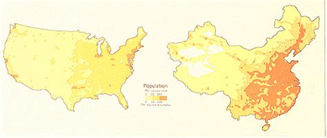 map of usa vs china east asia s geography through the 5 themes 6 essential