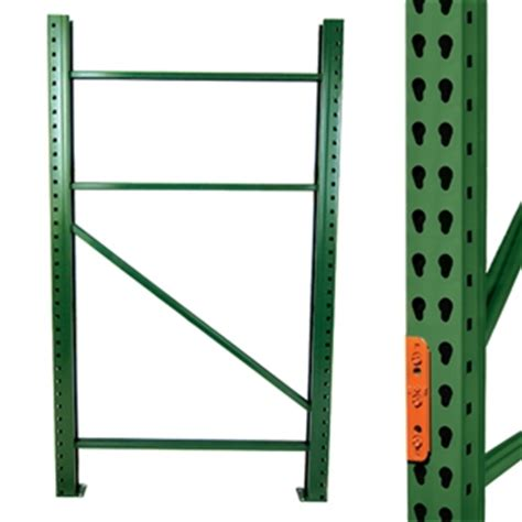 husky shelving parts teardrop style pallet rack upright frames wireway husky