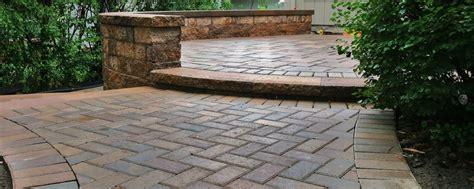 Patio Pavers Northern Virginia Crescent Dc Brick Patio Brick Steps Northern Va