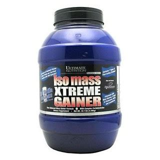 Isomass Xtreme Gainer 3 5 ultimate nutrition iso mass xtreme gainer