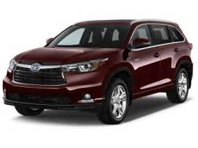 Toyota Highlander Hybrid 2015 2015 Toyota Highlander Hybrid Pictures Photos Gallery