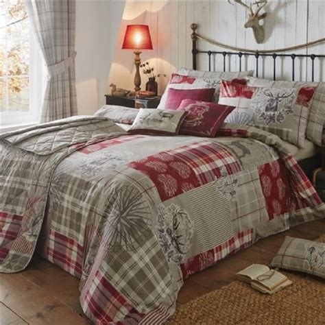 Tatton Patchwork Superior Duvet Cover And Pillowcase Set Tatton Duvet Cover Sets Curtains Bedspread And Cushions