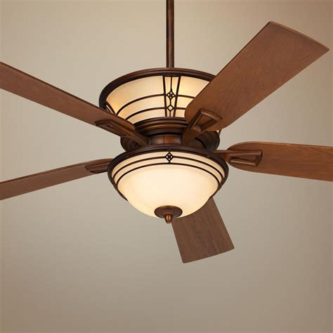 arts and crafts ceiling fan 52 quot fairmont aged bronze ceiling fan like this one has