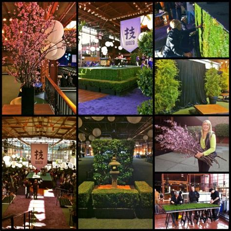 garden themed events japanese chic garden theme for heroku waza event