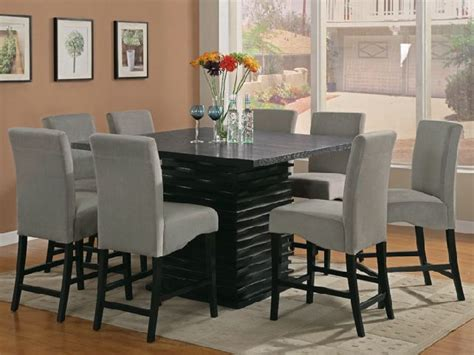 square dining room table for 8 pedestal square dining room table for 8 dining room