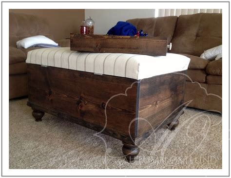 storage ottoman plans ottoman storage bench woodworking projects plans
