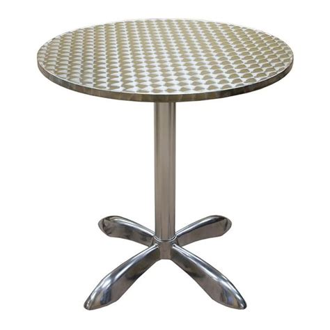 american tables seating al30 27 1 2 quot aluminum table