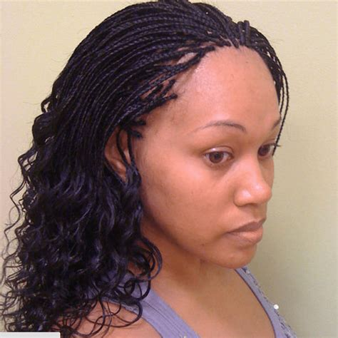 Braid Hairstyle by Micro Braids Hairstyles How To Style Pictures